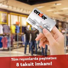 Ender Mağazası Taksitli Alışveriş