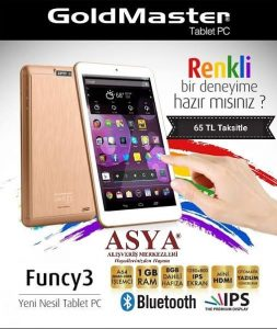 Asya Avm Tablet