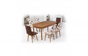 Ev Shop Yemek Masası ve Sandalye Seti