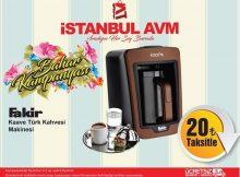 İstanbul Avm Türk Kahve Makinesi