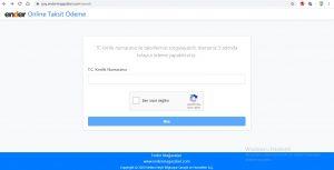 Ender Mağazaları Online Taksit Ödeme