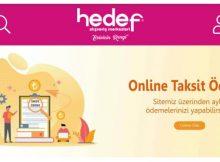 Hedef Avm Online Taksit Ödeme ve Borç Sorgulama